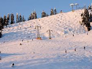 grouse mountain snowboarding